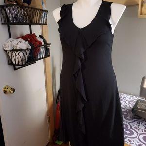 Black ruffle Apt. 9 dress